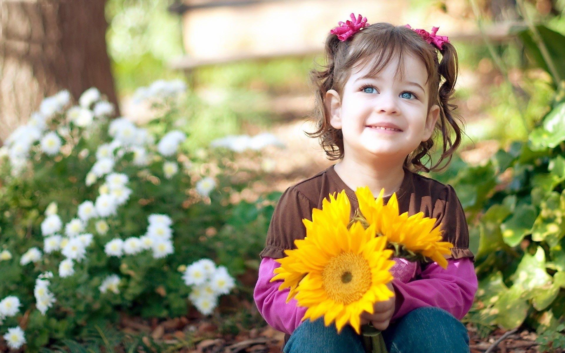 happy little girl - HD1920×1170