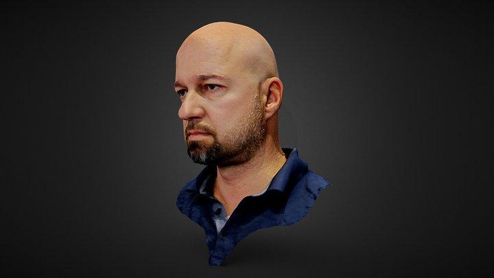Martin Head 1 Mio 002 3D Model