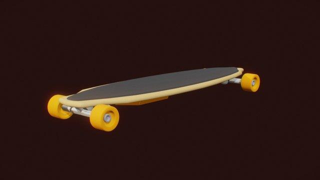 eSkate v1 3D Model