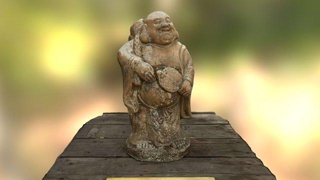 The Thinker Sculpture 3D Model