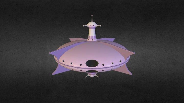 Hydargos Mothership2 3D Model