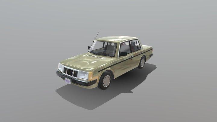 1992 Smaland 150 Sedan 3D Model
