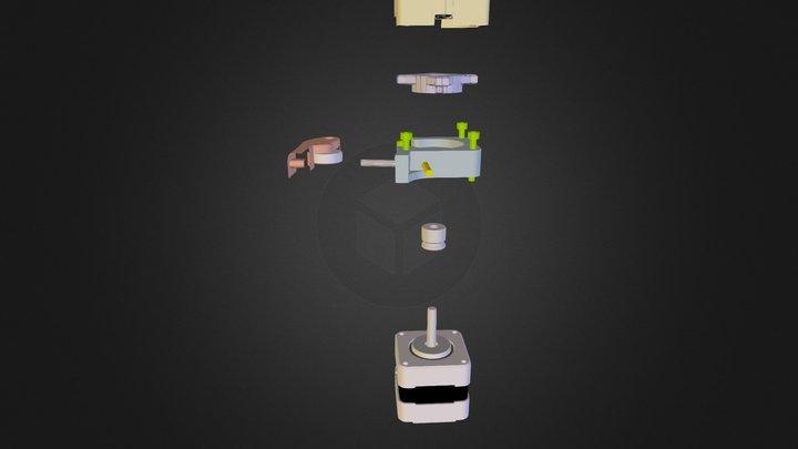 Eclated TruNanoStruder 3D Model