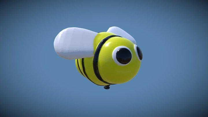 Medium | Bee-Balloon 3D Model