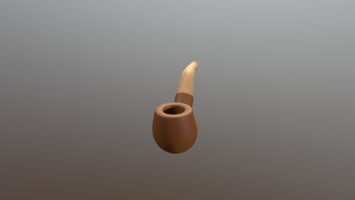 a smoking pipe 3D Model