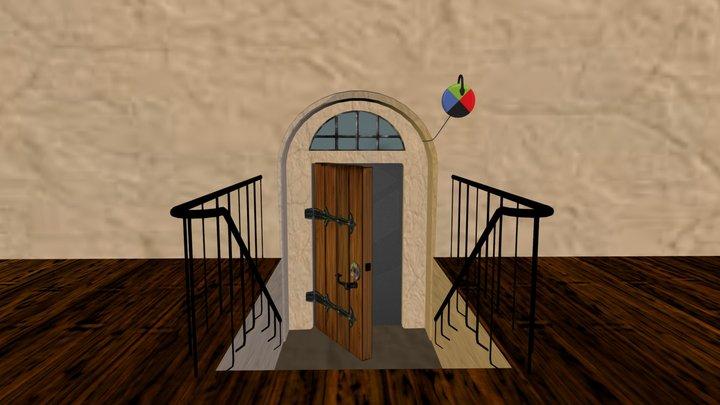 Howls Moving Castle Room 3D Model