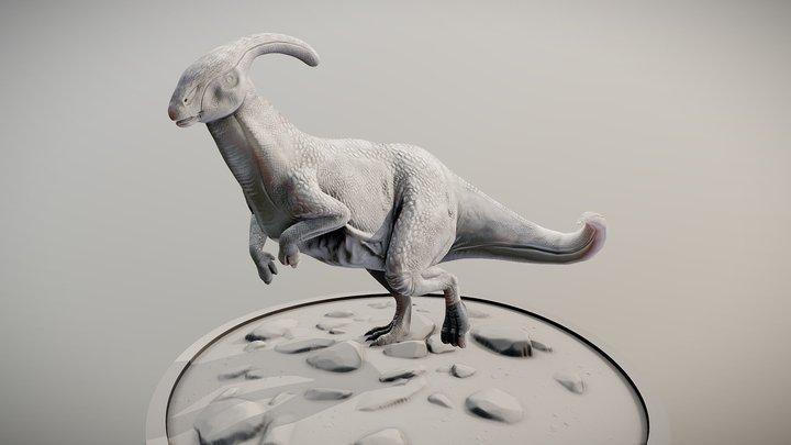 Paracephalosaurus 3D Model