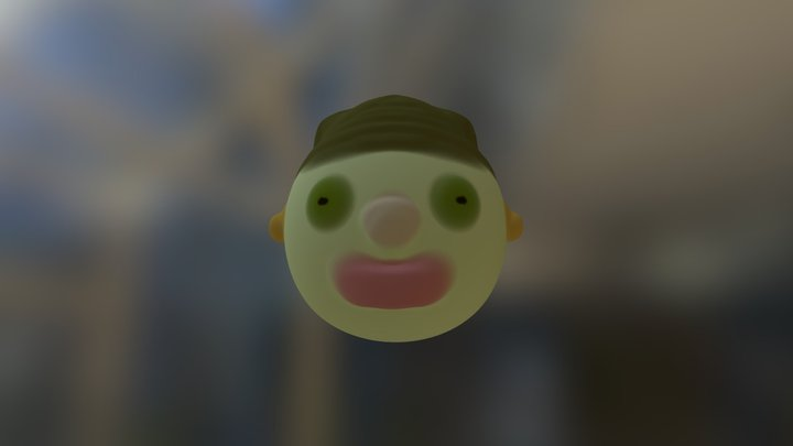 Happy face 3D Model