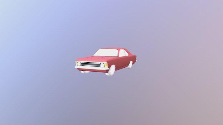 Chevrolet Opala 1974 3D Model