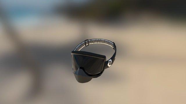 Mint-New SCOTT Split OTG Goggle 3D Model