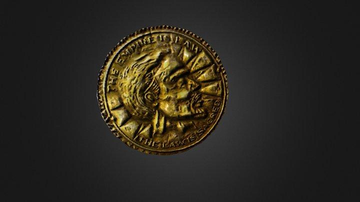 Skyrim Coin 3D Model
