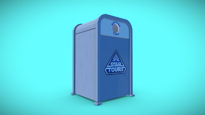 Star Tours Recycle Bin