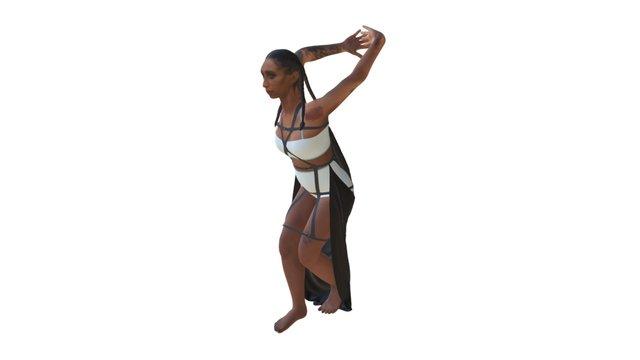 Mela Murder - Chromat Hyperwave Harness 3D Model