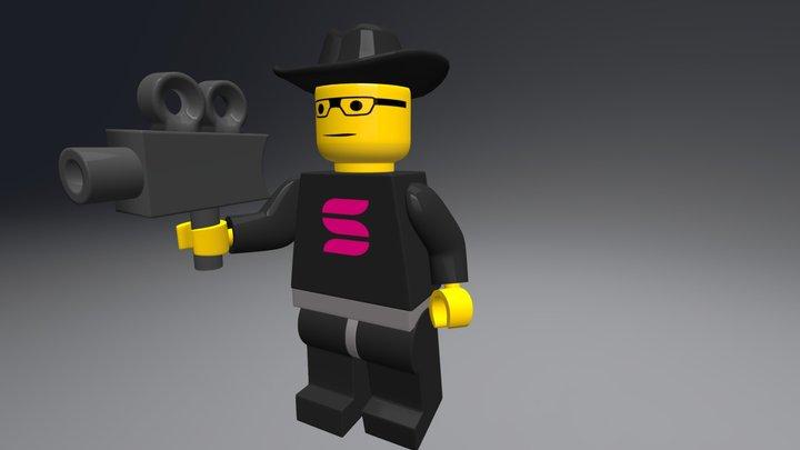 Lego Figur [FAN ART] 3D Model