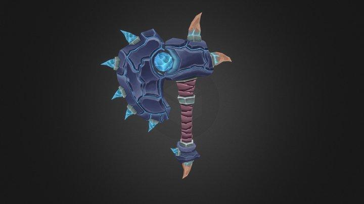 Thrall Deathseer inspired hammer 3D Model