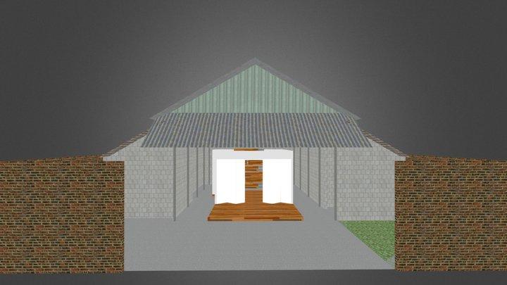 Arsitektur MHC Shelter 3D Model