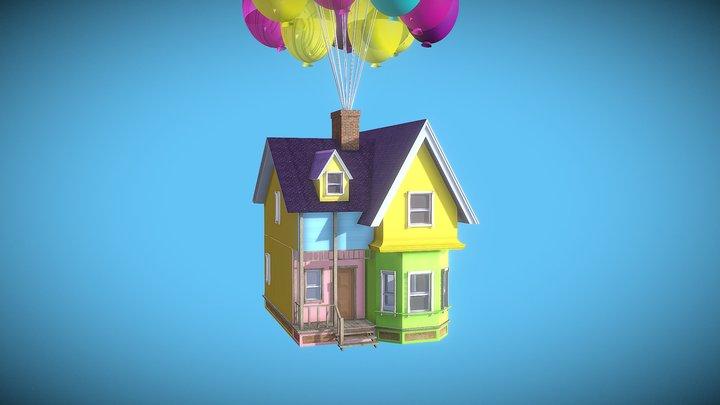 UP House 3D Model