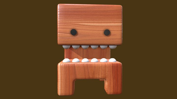 Teeth Toy 3D Model