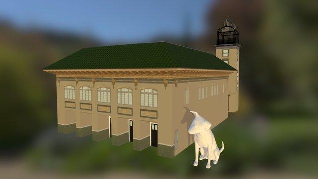 Central Art Station 3D Model