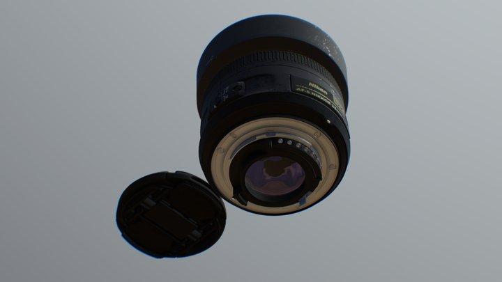 NIKKOR Lense 3D Model