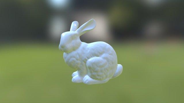 Stanford Bunny 3D Model