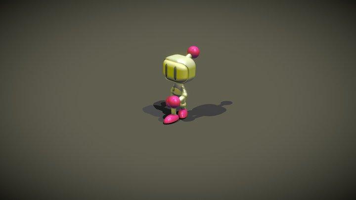 Exercise - Bomberman by TKW 3D Model