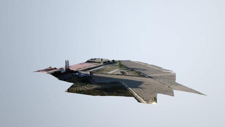 Triangulo IES El Palmeral 3D Model