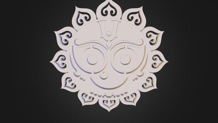 Jagannath 3D Model
