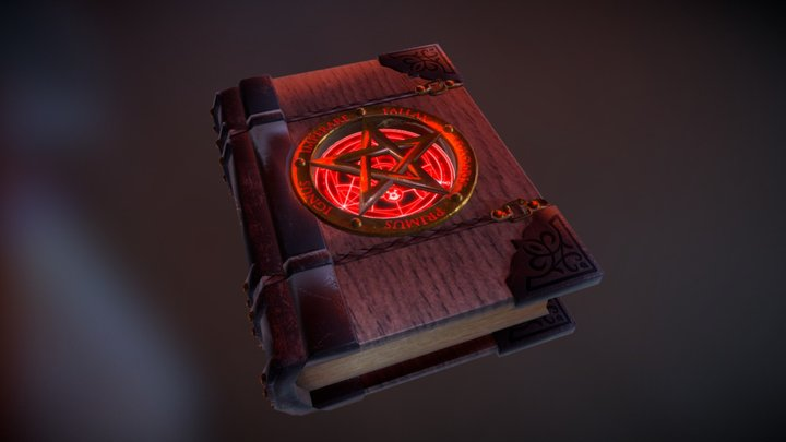 Libro Alquimia_Necronomicon 3D Model