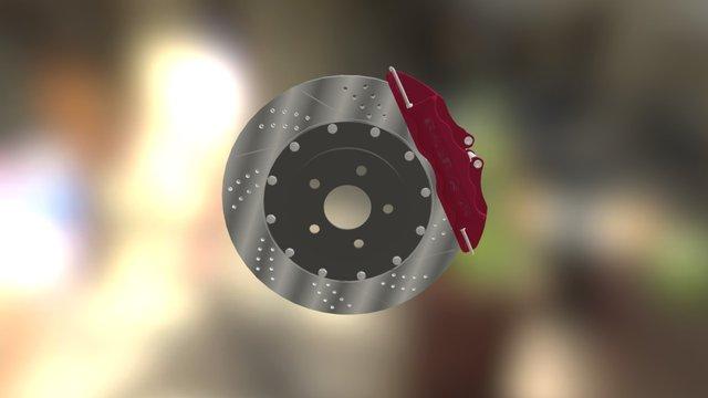 Тормозная колодка 3D Model