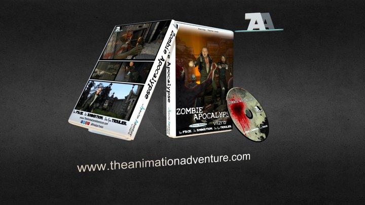 Zombie Apocalypse 3D Model