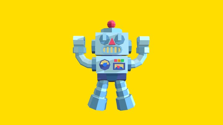 Robo T 3D Model