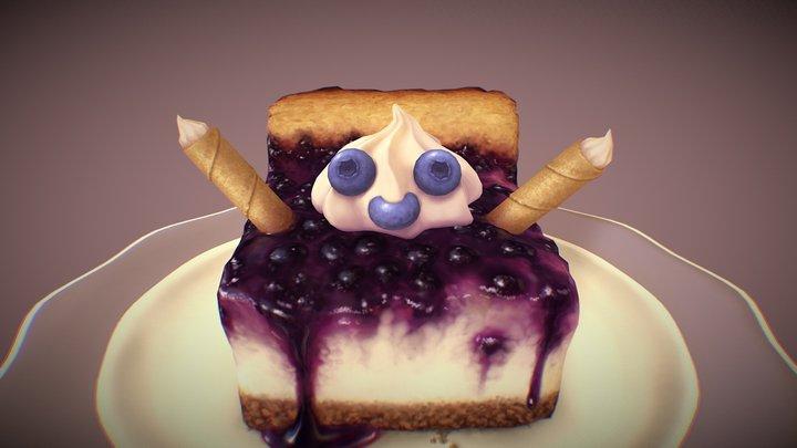 Mr. Blueberry 3D Model