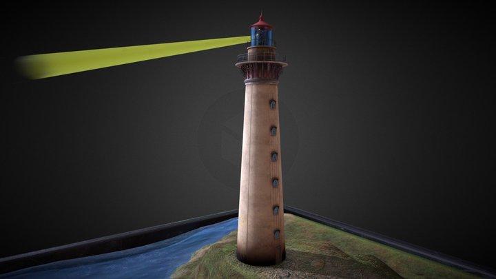 Lighthouse Challenge Scene 3D Model