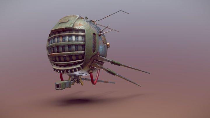 Fallout Eyebot 3D Model