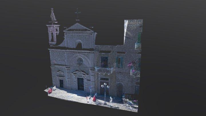Prospetto Chiesa S. Stefano - Molfetta (BA) 3D Model