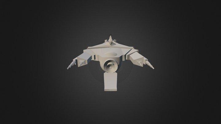 Scorpion Wen Krogg 3D Model