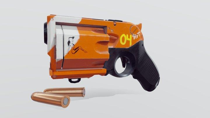 Si-Fi Pistol 3D Model