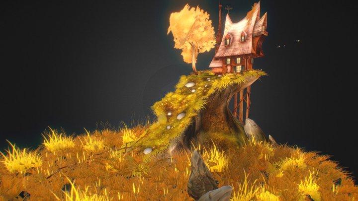 Fantasy House_Fan art 3D Model