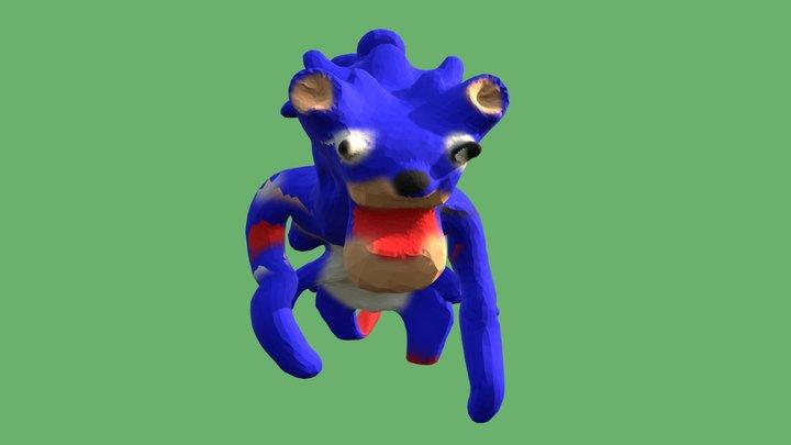 #SonicMovie 3D Model