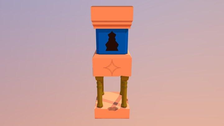 Ruin Tower 3D Model