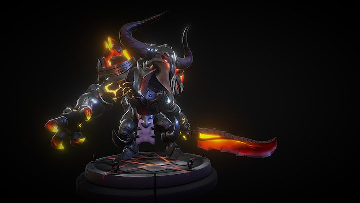 The Dark Knight 3D Model