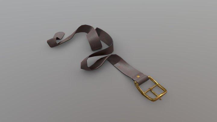 Belt dropped 3D Model