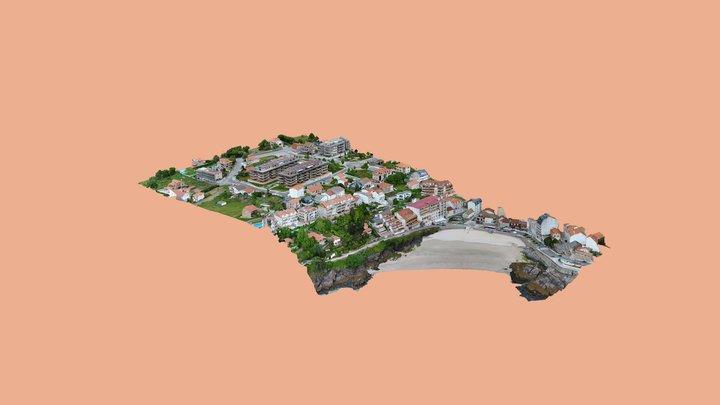 Villa Costera 3D Model