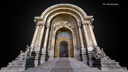 Petit Palais - Paris 3D Model