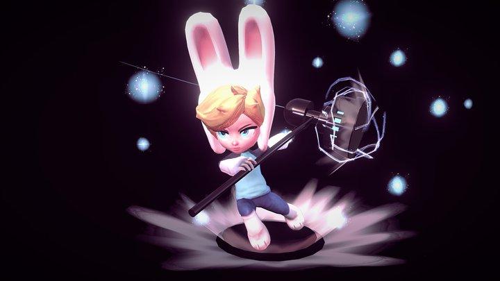 Bunny Boy 3D Model