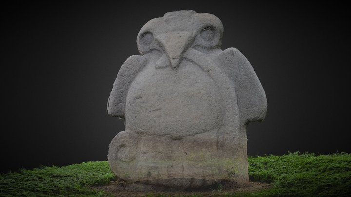 San Agustin, Archaeological complex Colombia. 3D Model
