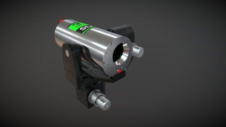 SL4 Underwater LiDAR (3D scanner) 3D Model