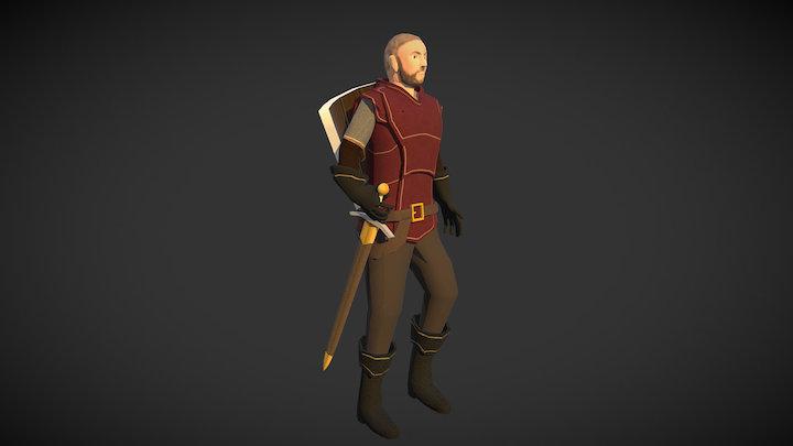 Town Guard 3D Model