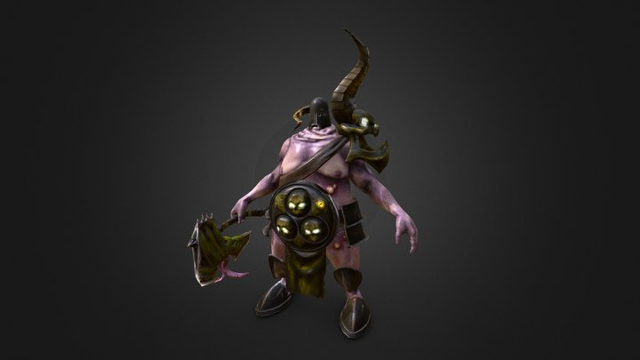 [Student work] Lord of Nurgle 3D Model